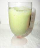 バナナと柿の青汁スムージー