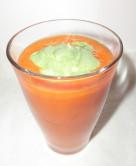 いちごとりんごの青汁スムージー