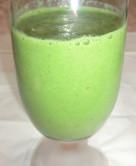 水菜とぶどうの青汁スムージー