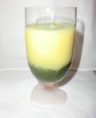 メロンとオレンジの青汁スムージー