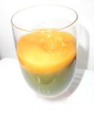 柿とみかんの青汁スムージー