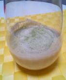 バナナとりんごの青汁スムージー