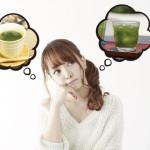 青汁のお湯を使った飲み方における注意