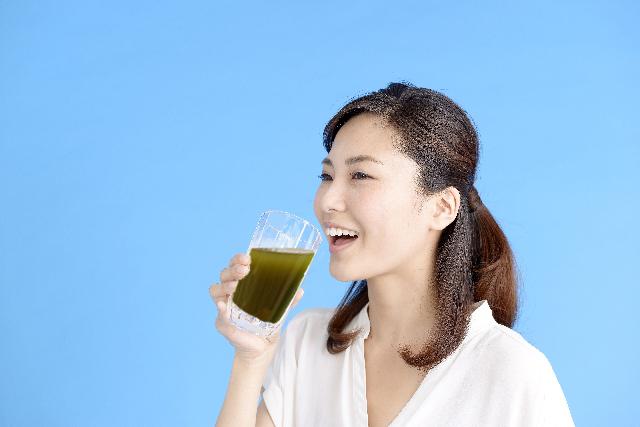 青汁の効果的な飲み方
