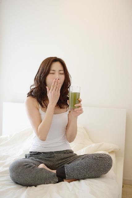 いつ飲むかによって効果に差が出る青汁ダイエット